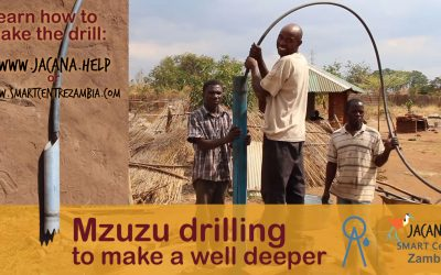 Online training: Making a well deeper with the Mzuzu drill (Aug2016)
