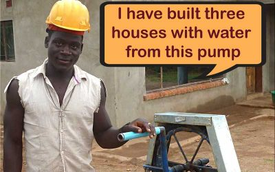 I have built three houses with water from this pump (not sponsored)