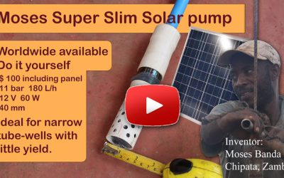Moses Super Slim Solar pump