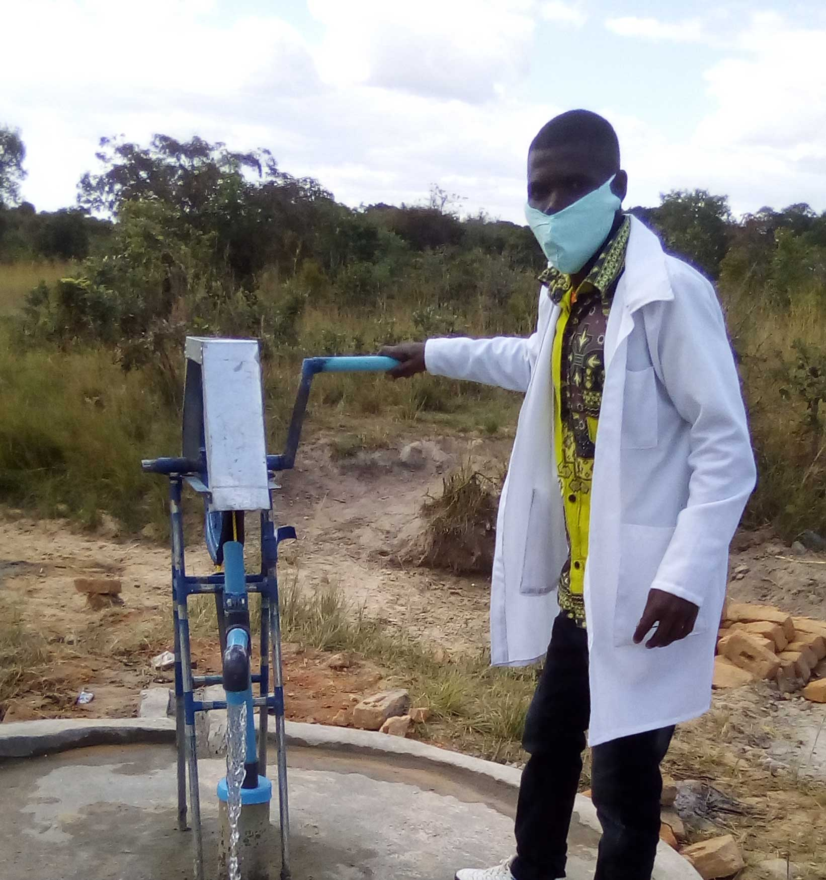 Pump at Chindeza rural health center
