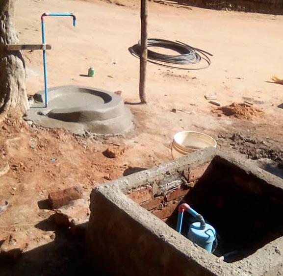 solar pump installation